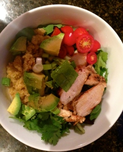 Honey Chicken Chipotle Bowl... my attempt!
