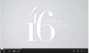 4 Scarves... 16 Ways!!!