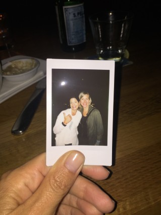 Our Polaroid from the festival.